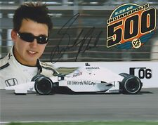 Indianapolis 500 driver GRAHAM RAHAL Signed Indy auto race 2008 8x10 Photo