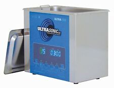 Digital Ultrasonic Cleaner Industry Heated Heater Timer .8 Gal  33/40 kHz + Soap