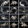 18 Style Hair Comb Flower Crystal Bridal Headpieces Headdress Hair Accessories