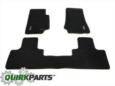 2007-2013 Jeep Wrangler 4-Door Unlimited Dark Slate Floor Mats MOPAR GENUINE OEM
