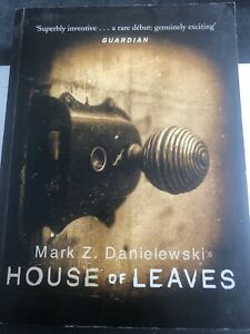 House Of Leaves by Mark Z Danielewski (Paperback, 2000)