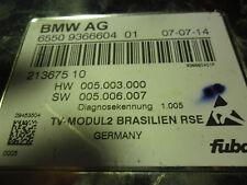 BMW-E60-E66-E90-E93-E70-E71-E89-STGT-TV-MODUL2 BRASILIEN RSE/9366604/936660401