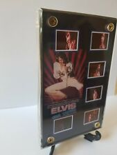 Elvis Presley On Tour  Documentary 8 Film Frame Cell Display with zipper pouch