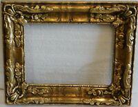 Vintage antique gold leaf frame fits 6 x 8 painting
