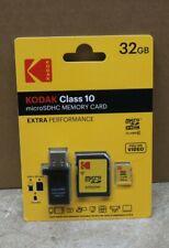 Kodak Class 10 MicroSDHC Memory Card Extra Performance 32GB USB - H320