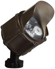 Kichler 15733BBR LED Accent Light 3 Light Low Voltage 60 Degree Wide Flood Light