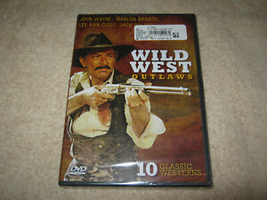 Wild West Outlaws - 10 Classic Westerns - John Wayne - New Sealed DVD - R4