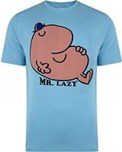 Mr Men Mr Lazy New Officially Licensed Various Sizes T-Shirt