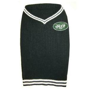 """NEW!! NFL LICENSED PET SWEATER VEST NEW YORK JETS XTRA SMALL 6""""-9"""" DOG OR CAT"""