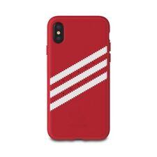 Carcasa iPhone X licencia Adidas rojo