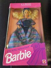 New 1992 J.C. Penney Limited Edition Evening Sensation Barbie Doll Mattel Blonde