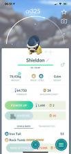 Pokemon Shiny Shieldon -  Acc mini - PTC acc - 100k stardust - Describe
