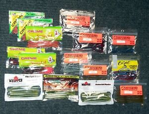 Finesse Fishing Worms - Lot / Soft Plastics Collection