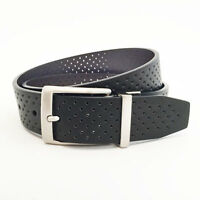 NIKE GOLF MEN'S PERFORATED REVERSIBLE BELT SIZE W38 (FITS 36) BLACK/BROWN 18184