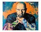 Joe Rogan JRE abstract poster print 18x12 original artwork by Xilberto