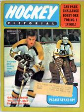 1 - Hockey Pictorial December 1970 Excellent Shape Clean Bobby Orr Bruins