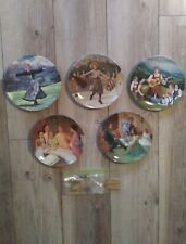 Sound Of Music Collector's Plates First (By Gadino), Second, Third, Fifth, Sixth