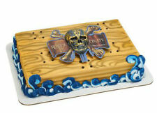 Pirates of the Caribbean Skull & Crossbones cake decoration Decoset topper set