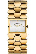 Alfex Damenuhr 5633/021 Quarz Schweizer Qualität UVP 315 EUR
