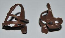 19826 Cinturón cruzado marrón bolsillo 2u playmobil,belt,soldier