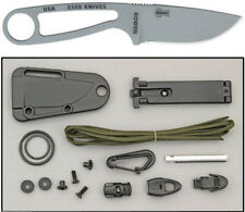 "ESEE Knives 6 1/4"" overall. 2 3/4"" drop point blade. One piece 1095 high carbon"