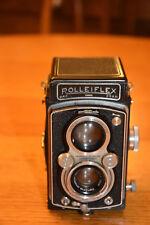 ROLLEIFLEX AUTOMAT MODEL 2 TWIN LENS REFLEX CAMERA & CASE, 75mm 3.5 TESSAR LENS