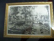 Renoir La Grenouillere Copper Plate Engraving w/ Certificate 1 of 125
