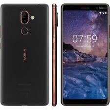 NOKIA 7 PLUS TA-1055 SS BLACK/COPPER 4GB RAM 64GB UNLOCKED  PHONE ONLY B Grade