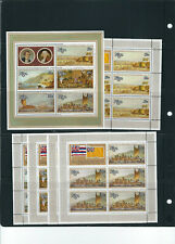 BRITISH COMMONWEALTH circa 1970s CAPTAIN COOK BICENT assortment VF MNH