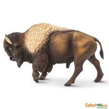 Safari ltd 100152 Bisonte 13cm Serie Animales Salvajes NOVEDAD 2018