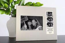 Silver Metal Double Photo Frame