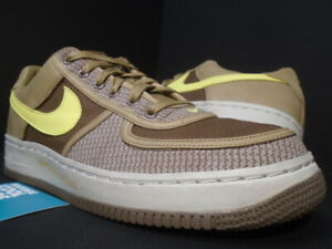 2006 NIKE AIR FORCE 1 INSIDEOUT PRIORITY UNDEFEATED UNDFTD DUNK CANTEEN LEMON 11