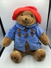 Retired 2011 Zoobies Paddington Bear Blanket Bag Plush Kids Stuffed Toy Animal