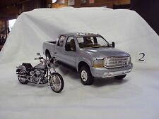 HARLEY DAVIDSON NOS COLLECTIBLE 1999 FORD F-250 CREW CAB & FSTD TRUCK  MODEL