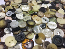 SWEET MIX! 500 SMALL SIZE/SHIRT SIZE BUTTONS 2hole & 4hole All Types