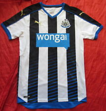 NEWCASTLE UNITED home jersey shirt PUMA 2015-2016 The Magpies NEW Adult SIZE S