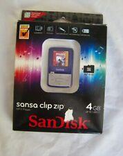 MP3 player San Disk Sansa Clip Zip  (4 GB), FM, records voice, audiobooks