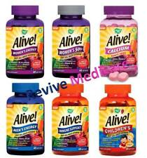 3 X Alive Men's Energy Soft GEL Multivitamins 60