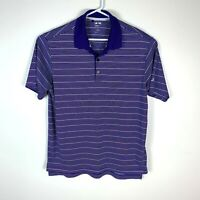 Adidas ClimaLite Purple Golf Polo Shirt (US Sizing) Size Men's Medium