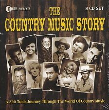 8cd The Country Music Story Various Artists
