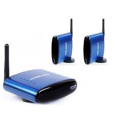 5.8GHz Wireless Audio Video Transmitter 2 Receiver IR