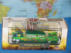 M2 MACHINES 1959 CADILLAC SERIES 62 AUTO-STRETCH RODS RELEASE R01 **BRAND NEW**
