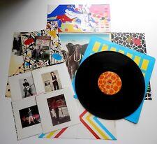 "Elvis Costello - Armed Forces UK 1979 Radar LP Fold Out Cover Bonus 7"" Postcards"