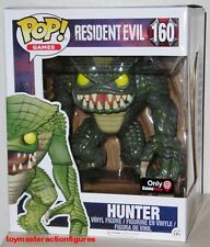 "FUNKO POP GAMES RESIDENT EVIL HUNTER #160 GameStop 6"" Super Size Fig IN STOCK"