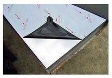 LASTRA ACCIAIO INOX 304 LUCIDO SP 0.5 mm DIMENSIONE 60 X 60 cm FOGLIO LAMIERA