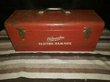 Milwaukee Electric hammer With Original metal Case