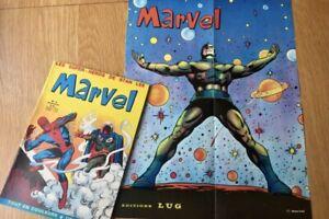 Marvel 8 Avec Poster Détaché - Lug 1970 - TBE