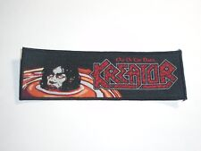 KREATOR OUT OF THE DARK WOVEN PATCH