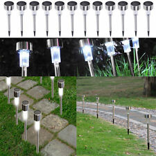 5 Pcs Solar Power LED Lights For Outdoor Garden Path Walkway Landscap  LED Lamps