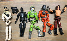 1980s GI Joe 3.75 Action Figures Lot To Reassemble Including Snake Eyes